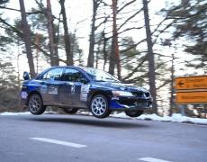Rallye südl. Weinstraße – Frank Färber/ Peter Schaaf 2. Platz im Gesamtklassement.