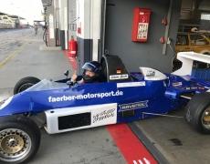 Simone Busch zum Saisonende auf Platz 2 der GLPpro am Nürburgring.