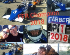 Frank Färber Formula Ford Racing Champion 2018