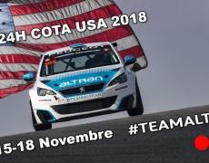 Nett Motorsport mit Jürgen Nett zu Gast im PEUGEOT Team Altran beim 24 Stunden Rennen in 🇺🇸 Cota USA