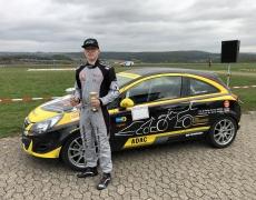 Team Youngstar Nett Motorsport Leon Dreiser (16) mit gelungenem Debüt bei Deutscher Slalom Meisterschaft