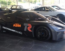 Mark Hennerici im KTM X-BOW GT4 bei der VLN 3 am Start