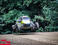 Hannah Gumm und Marvin Holzleithner Höhen und Tiefen im Autocross
