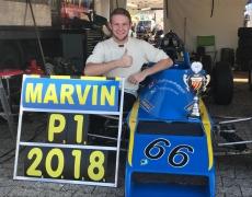 Marvin Brandl gewinnt die Formel Ford Racing 1600 Meisterschaft 2018