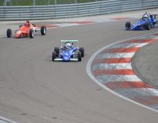 Marvin Brandl erfolgreich in Dijon auf Formel Ford 2000