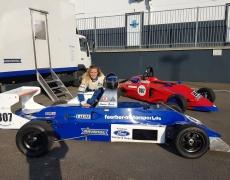 Simone Busch testet in Zolder