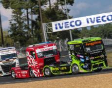 AC Mayen Truck-Pilot Sascha Lenz mit zwei Podiumsplätzen in Le Mans