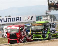 AC Mayen Truck-Pilot Sascha Lenz wieder mit Podiumsplatz in Jarama